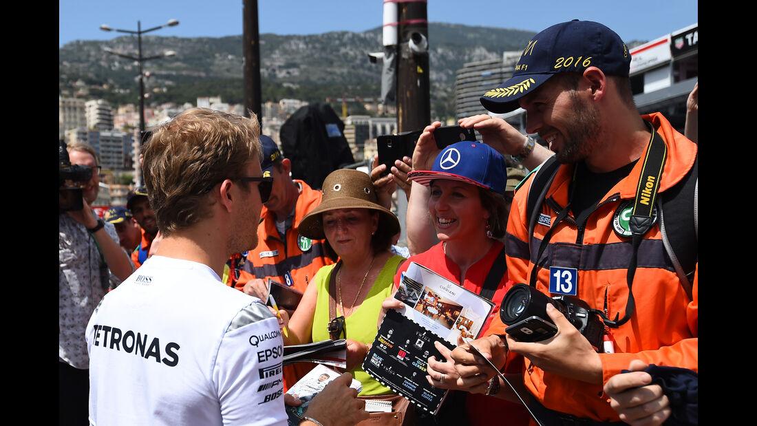 Nico Rosberg - Mercedes - Formel 1 - GP Monaco - 27. Mai 2016