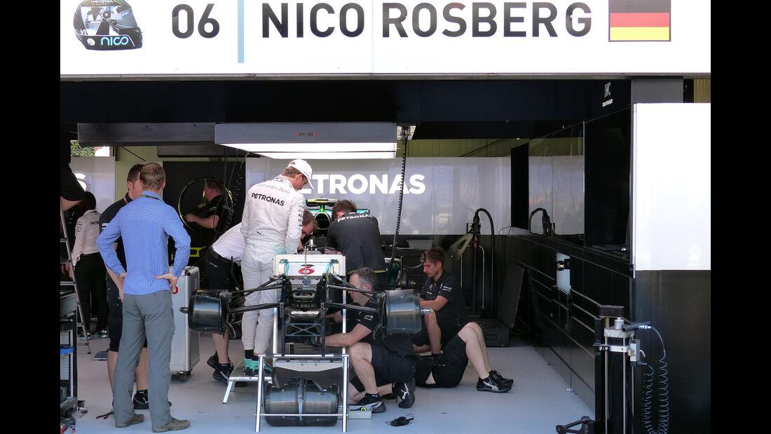Nico Rosberg - Mercedes  - Formel 1 - GP Monaco - Mittwoch - 20. Mai 2015