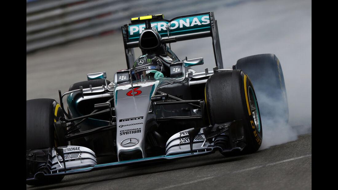 Nico Rosberg - Mercedes - Formel 1 - GP Monaco - Samstag - 23. Mai 2015