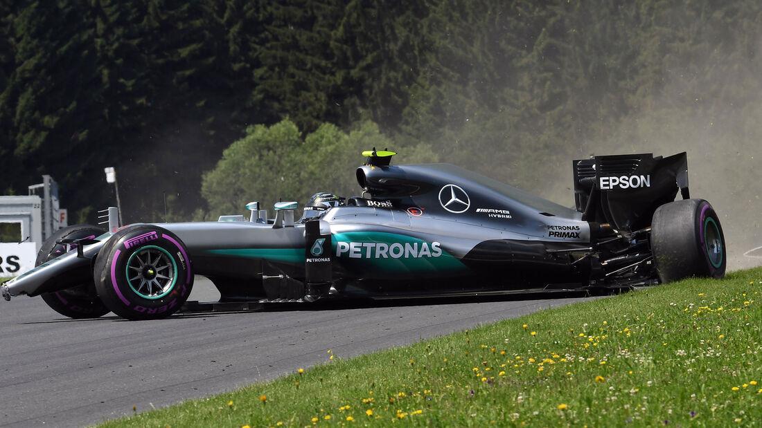 Nico Rosberg - Mercedes - Formel 1 - GP Österreich - 2. Juli 2016