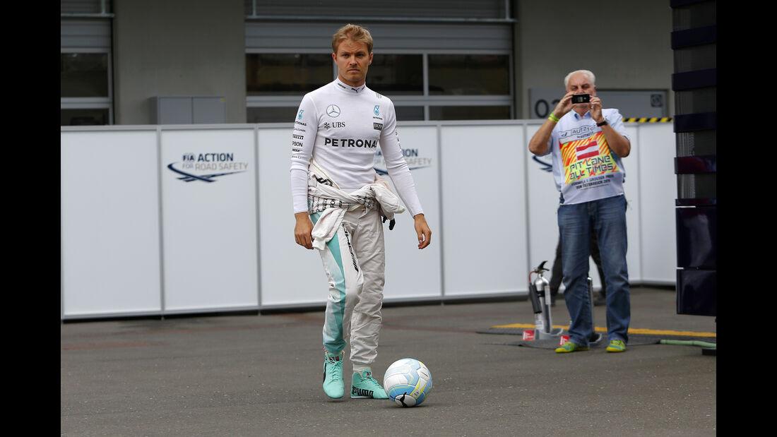 Nico Rosberg - Mercedes - Formel 1 - GP Österreich - Spielberg - 1. Juli 2016