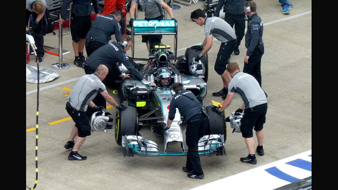 Nico Rosberg - Mercedes - Formel 1 - GP Österreich - Spielberg - 20. Juni 2014