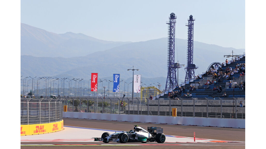 Nico Rosberg - Mercedes - Formel 1 - GP Russland - 10. Oktober 2014
