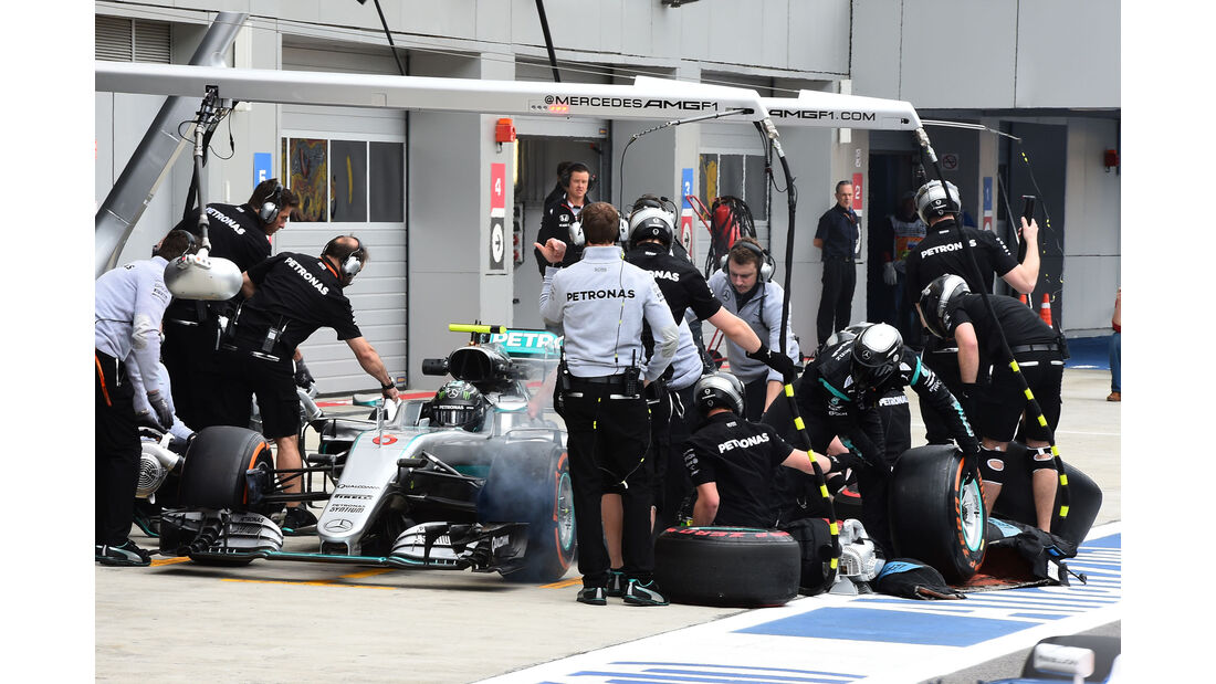 Nico Rosberg - Mercedes - Formel 1 - GP Russland - 29. April 2016