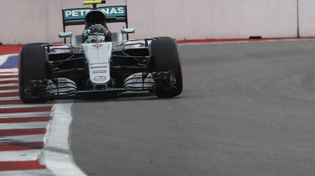 Nico Rosberg - Mercedes - Formel 1 - GP Russland - 30. April 2016