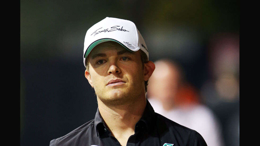 Nico Rosberg - Mercedes - Formel 1 - GP Singapur - 17. September 2015