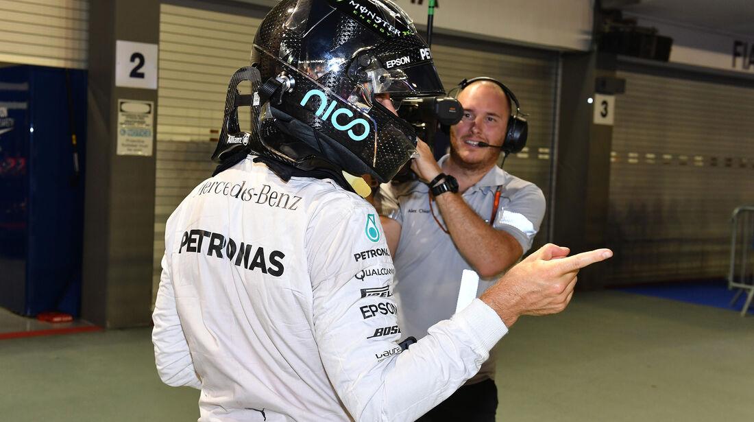 Nico Rosberg - Mercedes - Formel 1 - GP Singapur - 17. September 2016