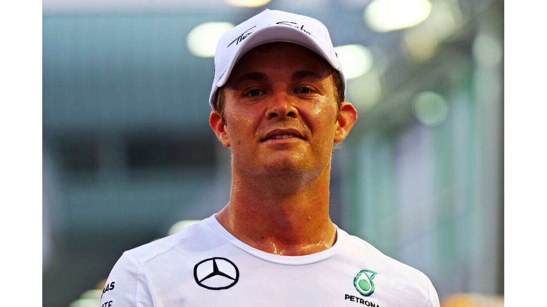 Nico Rosberg - Mercedes - Formel 1 - GP Singapur - 18. September 2014