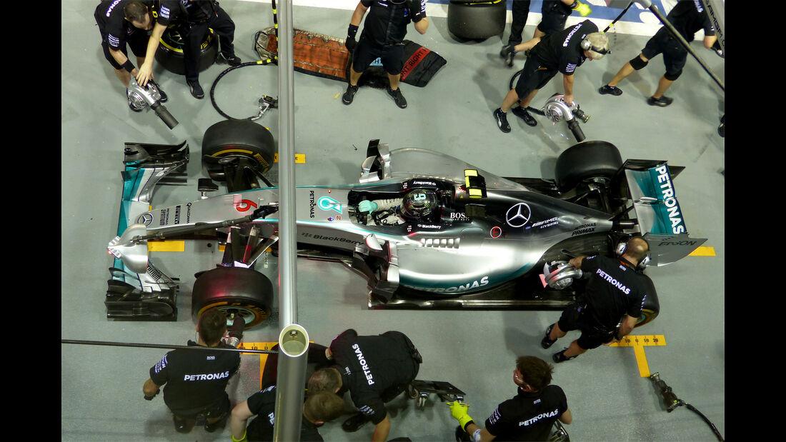 Nico Rosberg - Mercedes - Formel 1 - GP Singapur - 18. September 2015