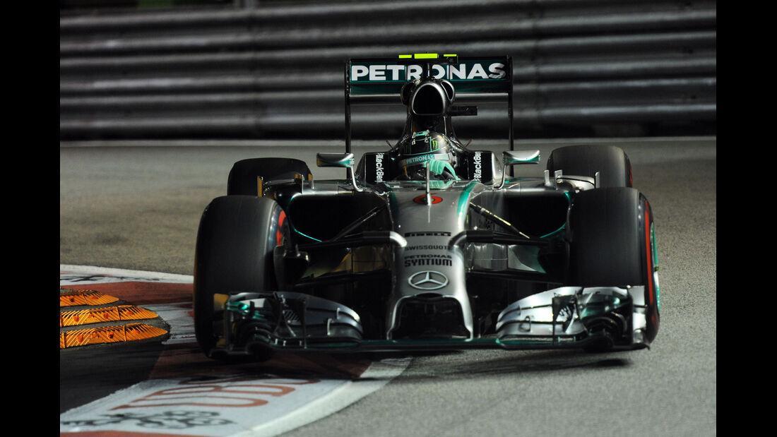 Nico Rosberg - Mercedes - Formel 1 - GP Singapur - 20. September 2014