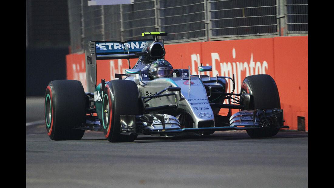 Nico Rosberg - Mercedes - Formel 1 - GP Singapur - 20. September 2015
