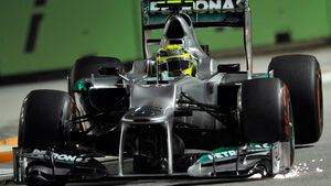 Nico Rosberg - Mercedes - Formel 1 - GP Singapur - 21. September 2012