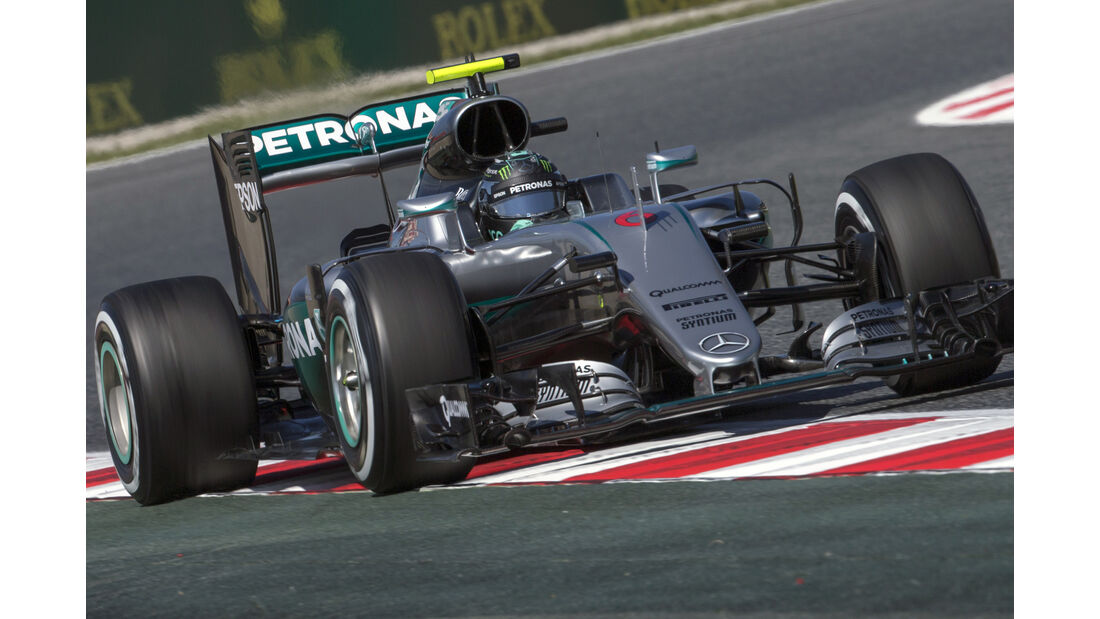 Nico Rosberg - Mercedes - Formel 1 - GP Spanien - 13. Mai 2016