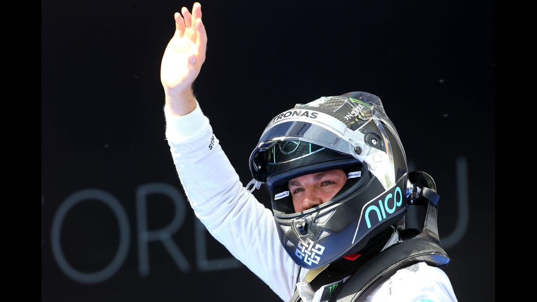 Nico Rosberg - Mercedes - Formel 1 - GP Spanien - Barcelona - 10. Mai 2014