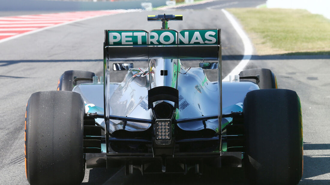 Nico Rosberg - Mercedes - Formel 1 - GP Spanien - Barcelona - 9. Mai 2014