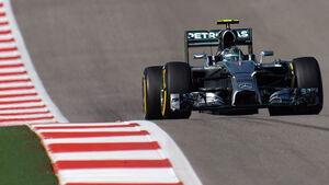 Nico Rosberg - Mercedes - Formel 1 - GP USA - 1. November 2014