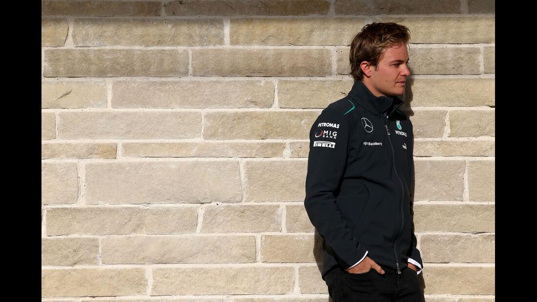 Nico Rosberg - Mercedes - Formel 1 - GP USA - 14. November 2013