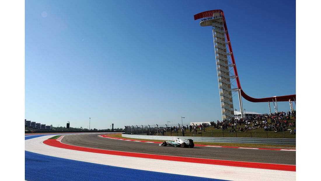 Nico Rosberg - Mercedes - Formel 1 - GP USA - 15. November 2013