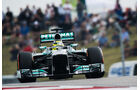 Nico Rosberg - Mercedes - Formel 1 - GP USA - 16. November 2013