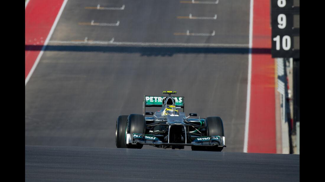 Nico Rosberg - Mercedes - Formel 1 - GP USA - Austin - 16. November 2012