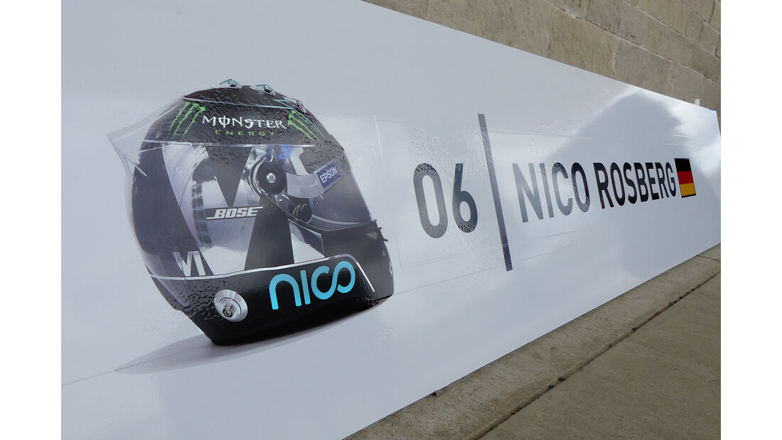 Nico Rosberg - Mercedes - Formel 1 - GP USA - Austin - 19. Oktober 2016