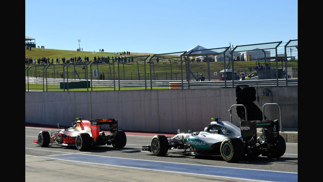 Nico Rosberg - Mercedes - Formel 1 - GP USA - Austin - 21. Oktober 2016