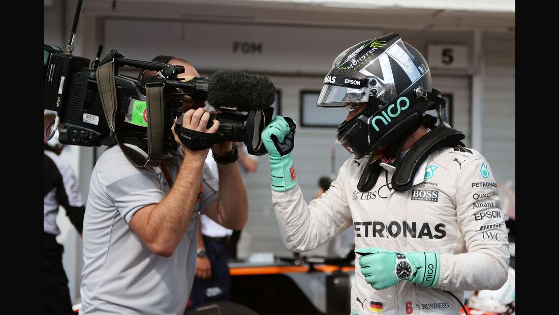 Nico Rosberg - Mercedes - Formel 1 - GP Ungarn - 23. Juli 2016