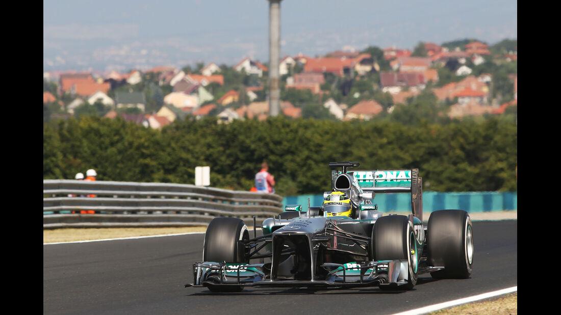 Nico Rosberg - Mercedes - Formel 1 - GP Ungarn - 26. Juli 2013