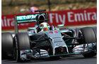 Nico Rosberg - Mercedes - Formel 1 - GP Ungarn - 26. Juli 2014