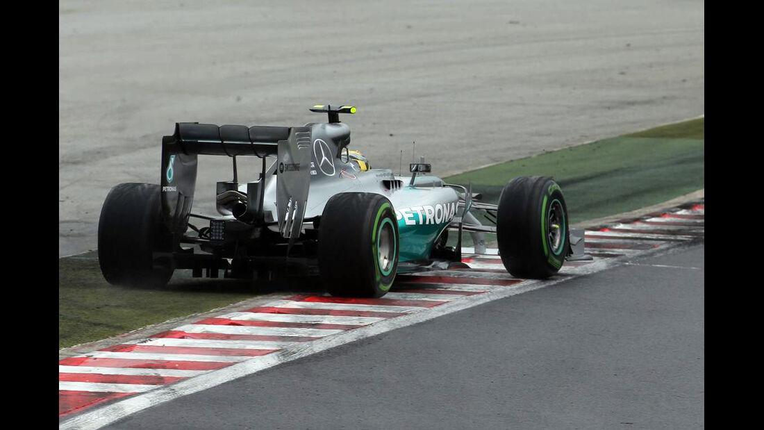 Nico Rosberg - Mercedes - Formel 1 - GP Ungarn - 27. Juli 2014