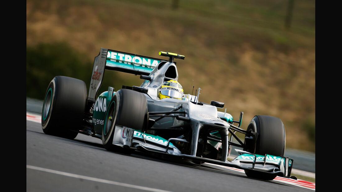 Nico Rosberg - Mercedes - Formel 1 - GP Ungarn - Budapest - 27. Juli 2012