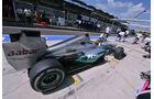 Nico Rosberg - Mercedes - Formel 1 - GP Ungarn - Budapest - 28. Juli 2012