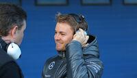 Nico Rosberg - Mercedes - Formel 1 - Jerez-Test - 28. Januar 2014