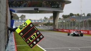 Nico Rosberg - Mercedes - Formel 1 - Jerez - Test - 31. Januar 2014