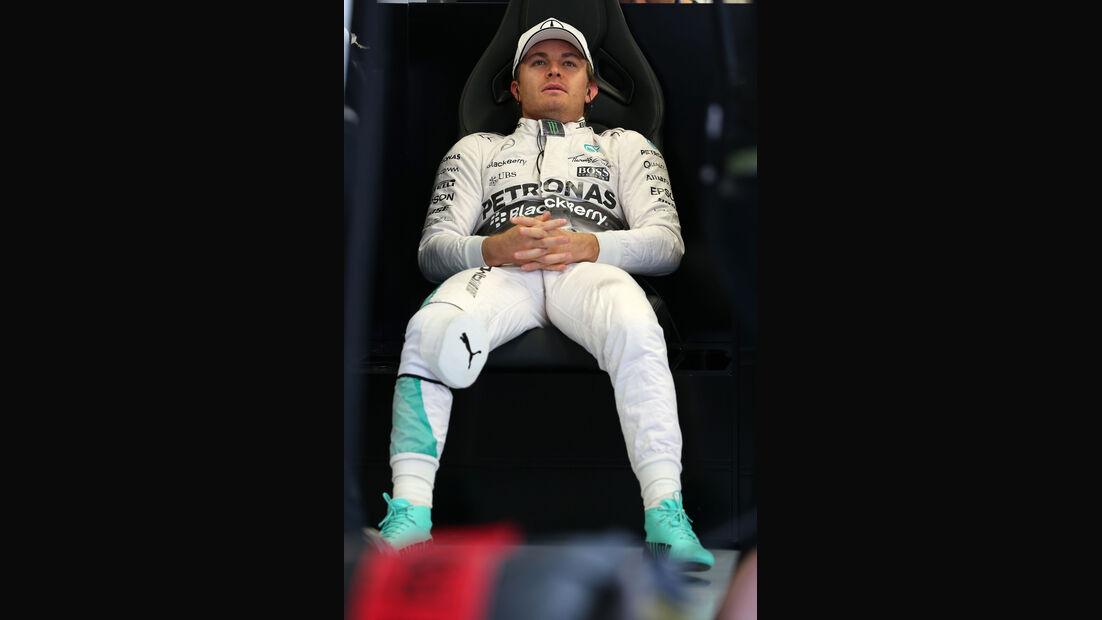 Nico Rosberg - Mercedes - Formel 1 - Sochi - GP Russland - 9. Oktober 2015
