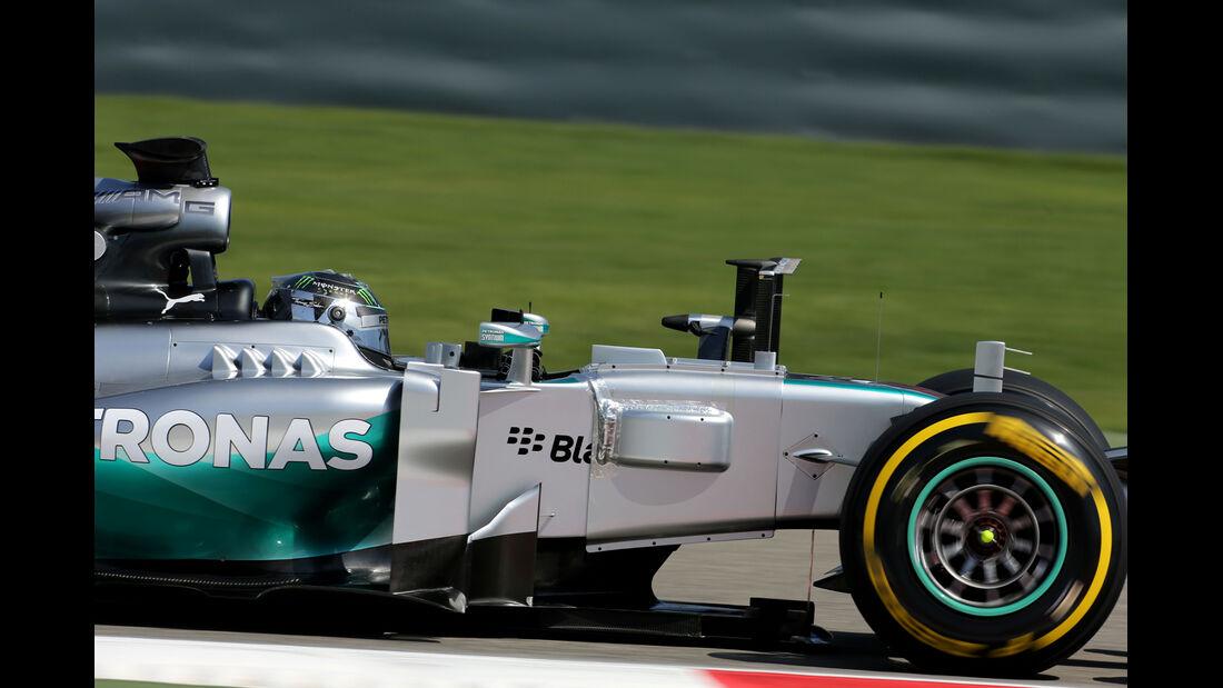 Nico Rosberg - Mercedes - Formel 1 - Test 1 - GP Bahrain 2014