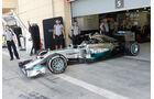 Nico Rosberg - Mercedes - Formel 1 - Test - Bahrain - 27. Februar 2014