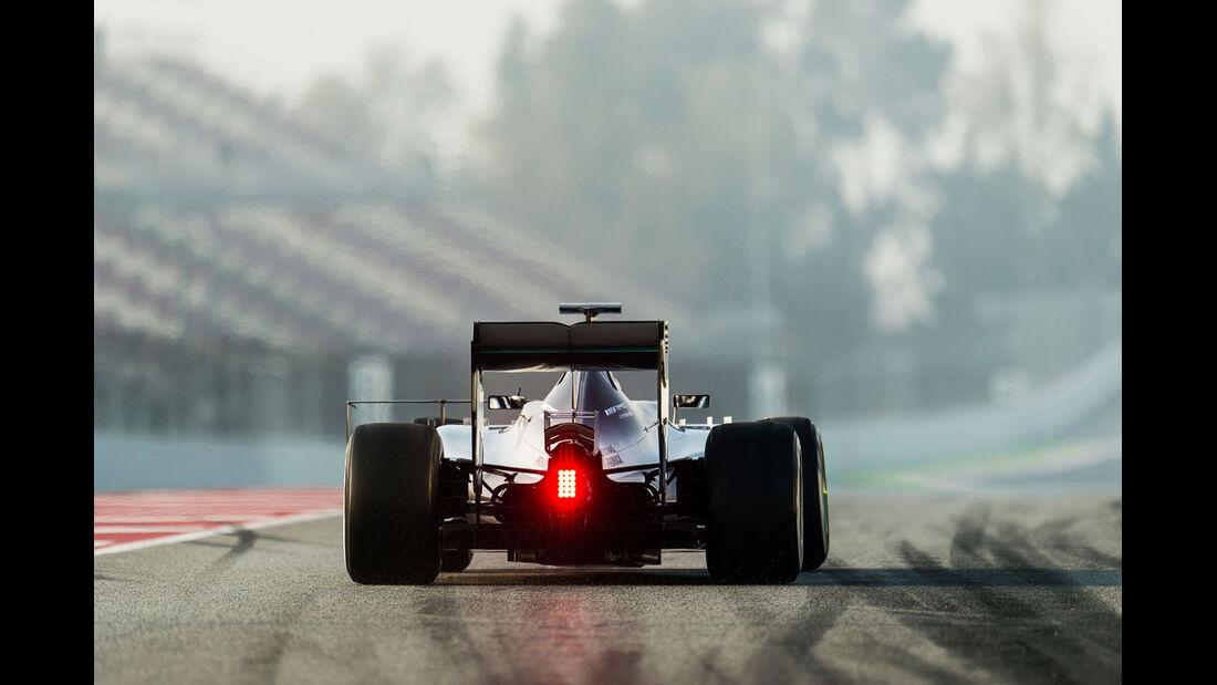 Nico Rosberg - Mercedes - Formel 1-Test - Barcelona - 20. Februar 2015