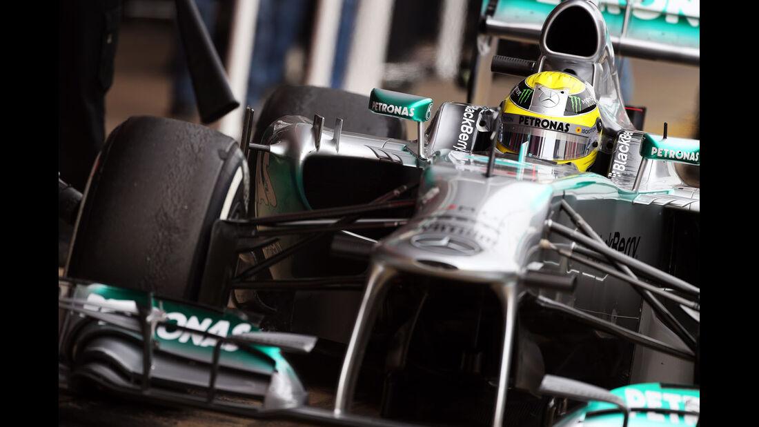 Nico Rosberg, Mercedes, Formel 1-Test, Barcelona, 21. Februar 2013