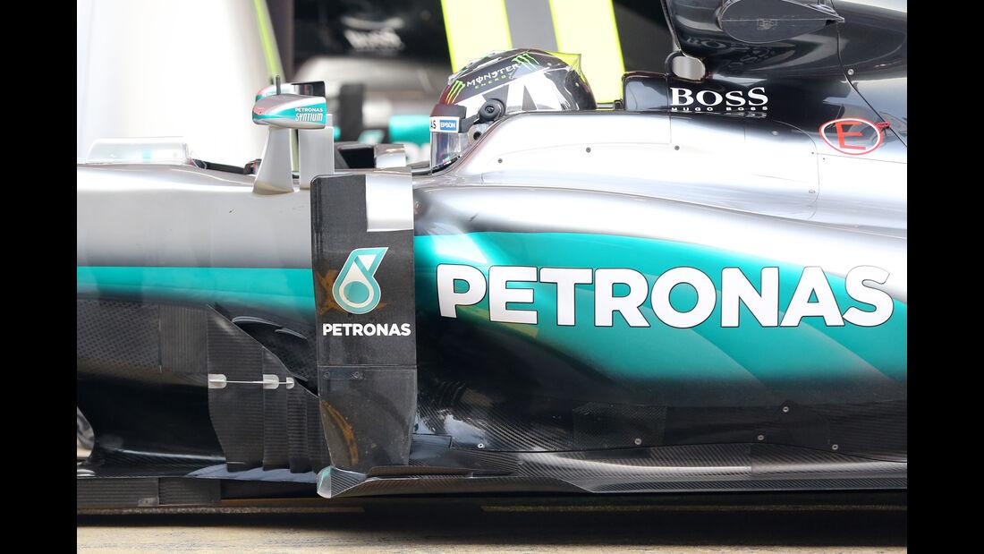 Nico Rosberg - Mercedes - Formel 1-Test - Barcelona - 23. Februar 2016