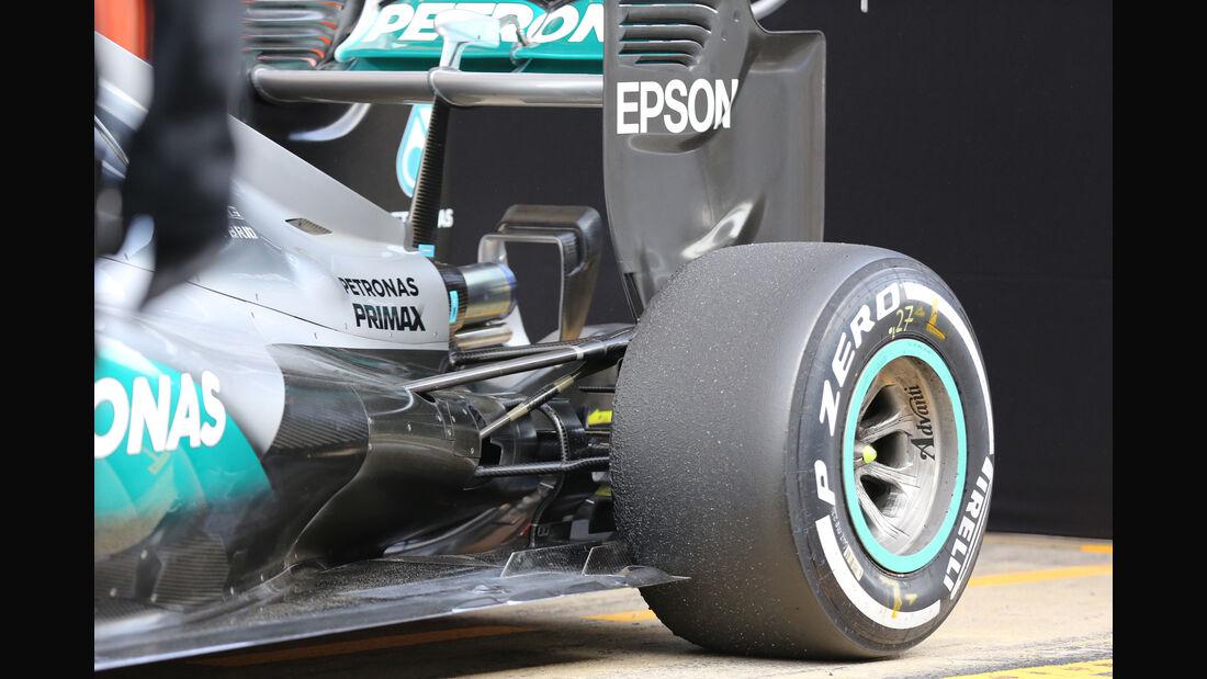 Nico Rosberg - Mercedes - Formel 1-Test - Barcelona - 24. Februar 2016