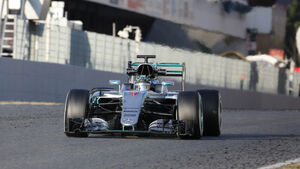 Nico Rosberg - Mercedes - Formel 1-Test - Barcelona - 25. Februar 2016