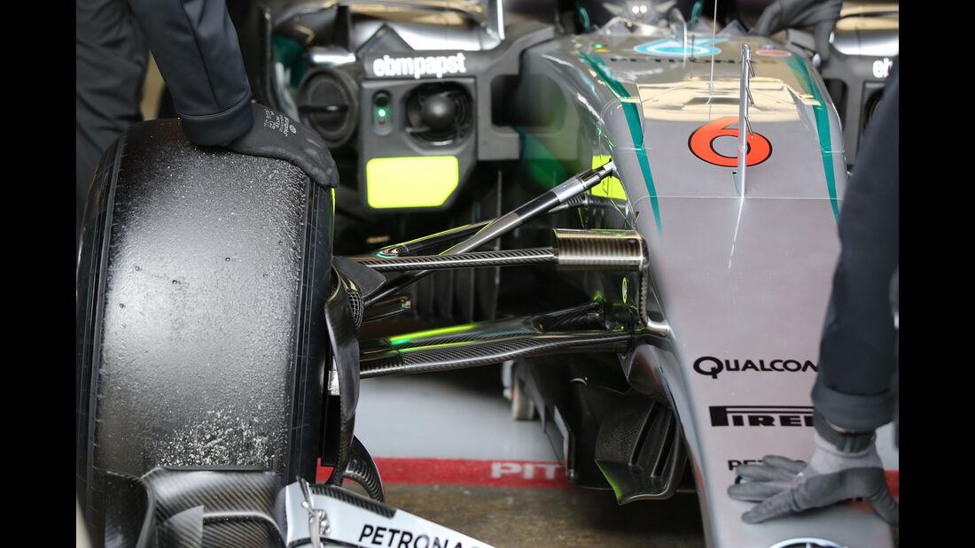 Nico Rosberg - Mercedes - Formel 1-Test - Barcelona - 3. März 2016