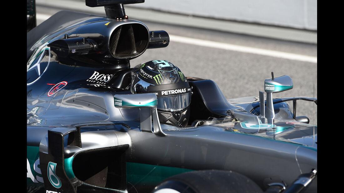 Nico Rosberg - Mercedes - Formel 1-Test - Barcelona - 4.3.2016