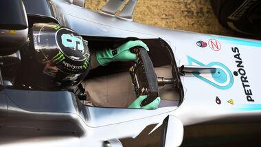 Nico Rosberg - Mercedes - Formel 1-Test - Barcelona - 4. März 2016