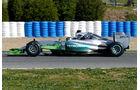 Nico Rosberg - Mercedes - Formel 1-Test Jerez - 1. Febraur 2015