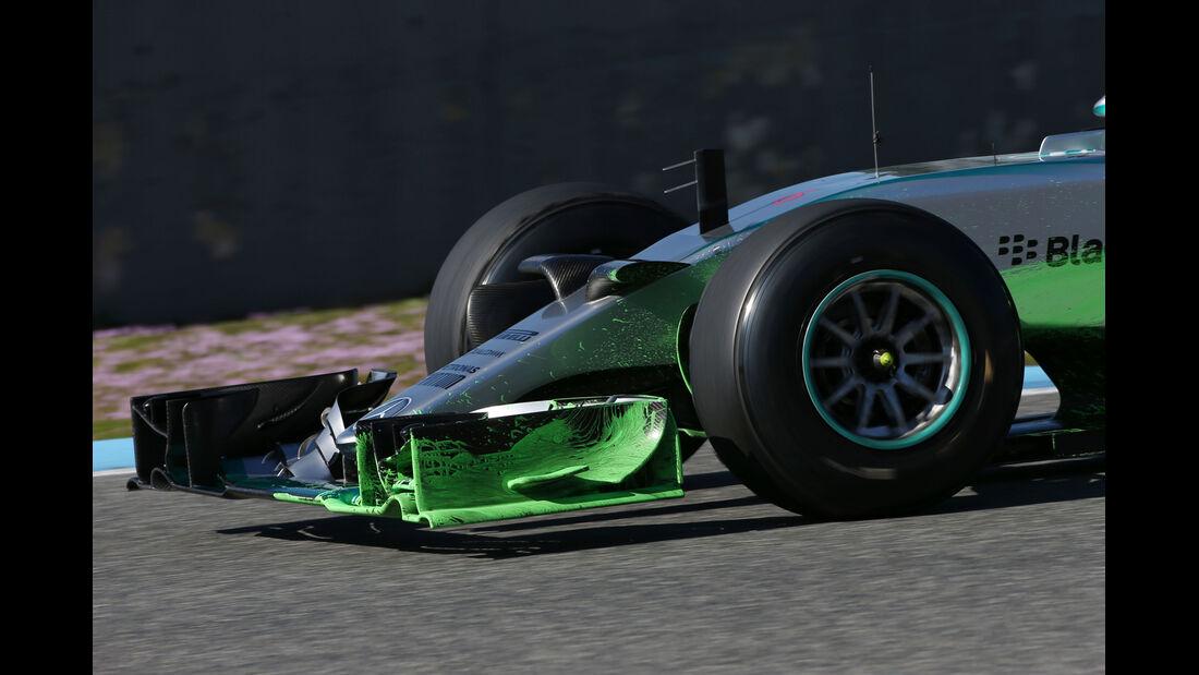 Nico Rosberg - Mercedes - Formel 1-Test Jerez - 1. Februar 2015