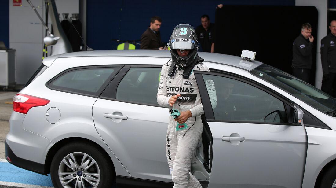 Nico Rosberg - Mercedes - Formel 1-Test - Jerez - 3. Februar 2015