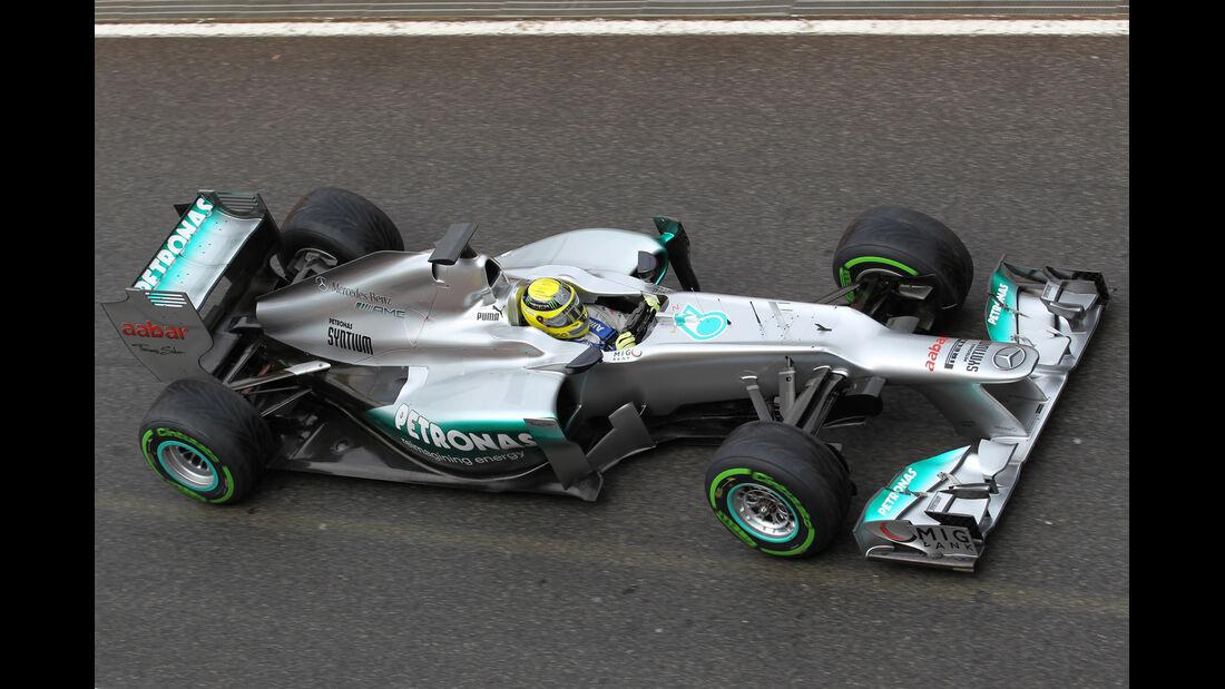 Nico Rosberg - Mercedes - Formel 1-Test - Mugello - 1. Mai 2012