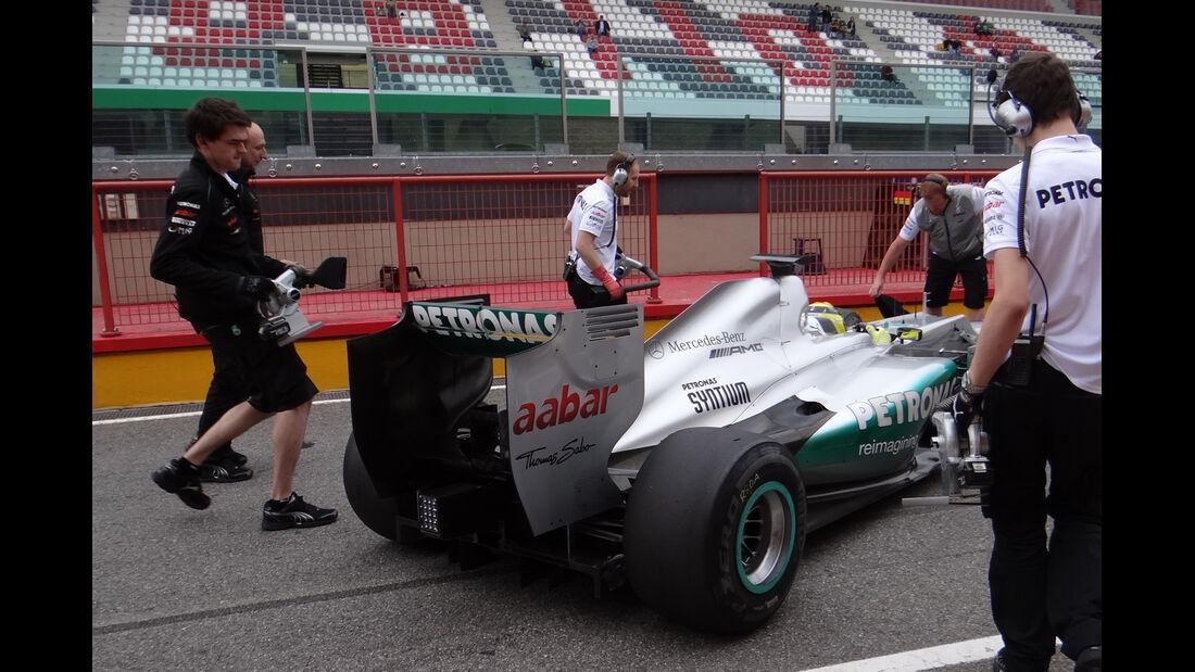 Nico Rosberg - Mercedes - Formel 1-Test - Mugello - 3. Mai 2012